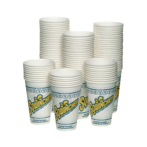 Sqwincher 340ml Cups 2000 per case