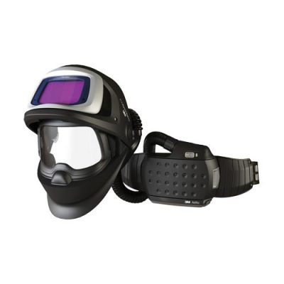 3M Speedglas Flip-Up Welding Helmet 9100XXi FX Air with Adflo Powered Air Welding Respirator