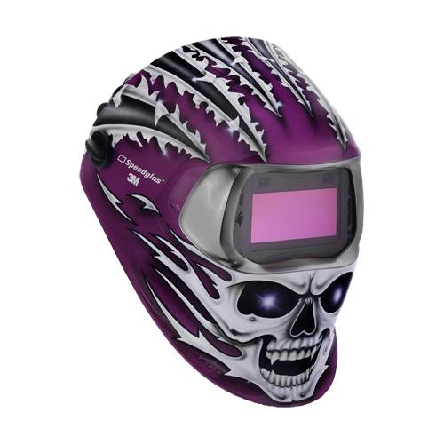 3M Speedglas Welding Helmet 100 Raging Skull