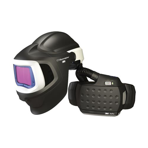 3M Speedglas Welding & Safety Helmet 9100XXi MP Air with Adflo Powered Air Welding Respirator