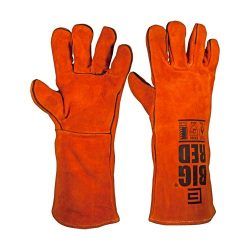 Big Red Welders Glove