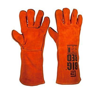 Big Red Welders Glove