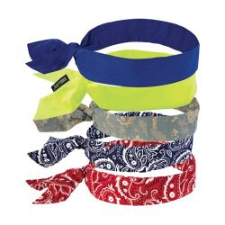 Ergodyne Chill-its 6700 Evaborative Cooling Bandana- Tie
