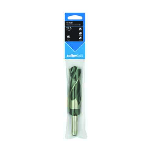 DRILL D188 24.0mm REDUCED SHANK 12.5mm HSS BLU