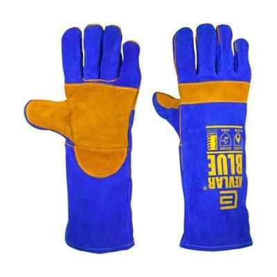 Kevlar Blue Welding Gloves