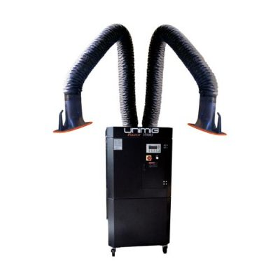 Mobile Double Arm 415 Volts - Fume Extraction Equipment
