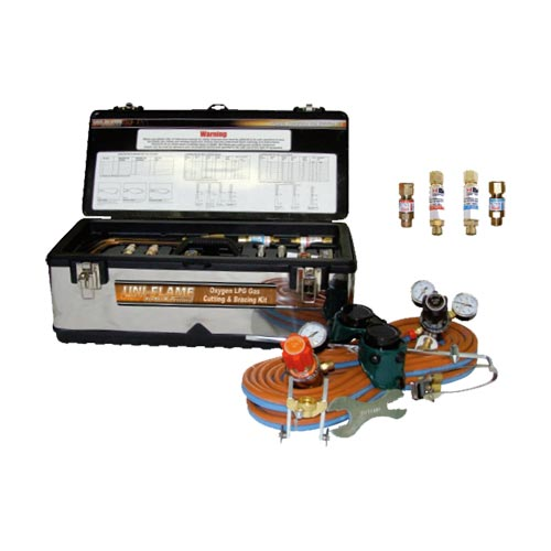 Oxygen & LPG Propane Professional Industrial Gas Set