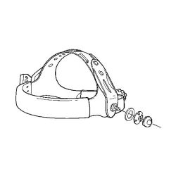 Speedglas 9002-100 head harness attachments