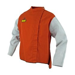 WAKATAC Welders Jacket with Chrome Sleeve