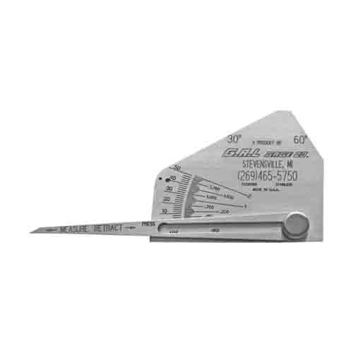Skew-T Fillet Weld Gauge