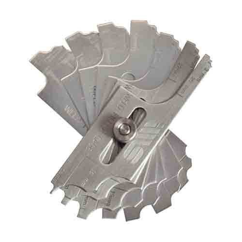 Fillet Gauge Metric W/ Slot