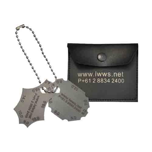 Pocket Fillet Weld Gauge